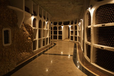 """Cricova wine cellar by hanspoldoja, on Flickr"