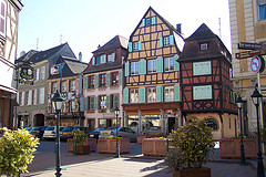 Colmar street by ChristinaT, on Flickr