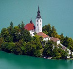 Church of the Assumption, Slovenia by jsouthorn, on Flickr