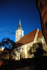 Bratislava cathedral by pragmatopian, on Flickr